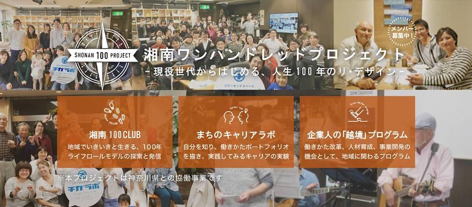湘南100プロジェクトキックオフ