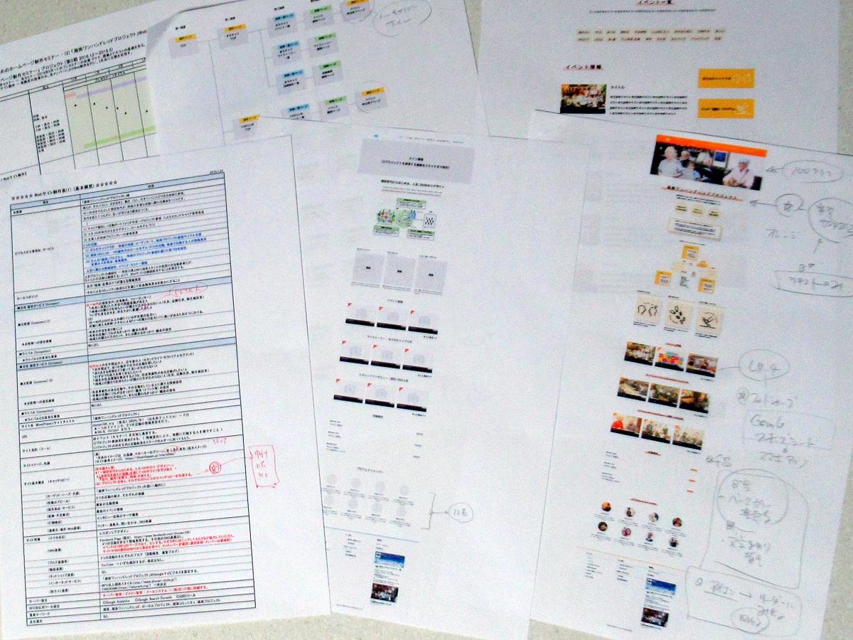 セカンドワークプロジェクト資料群