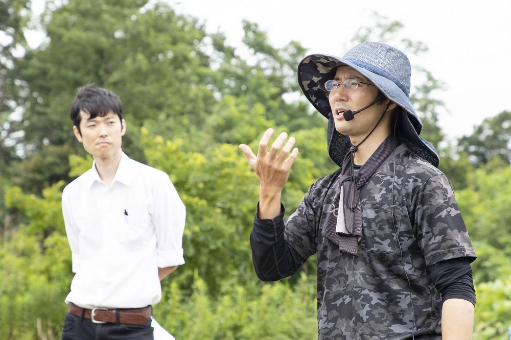 Mr. Uchida explains