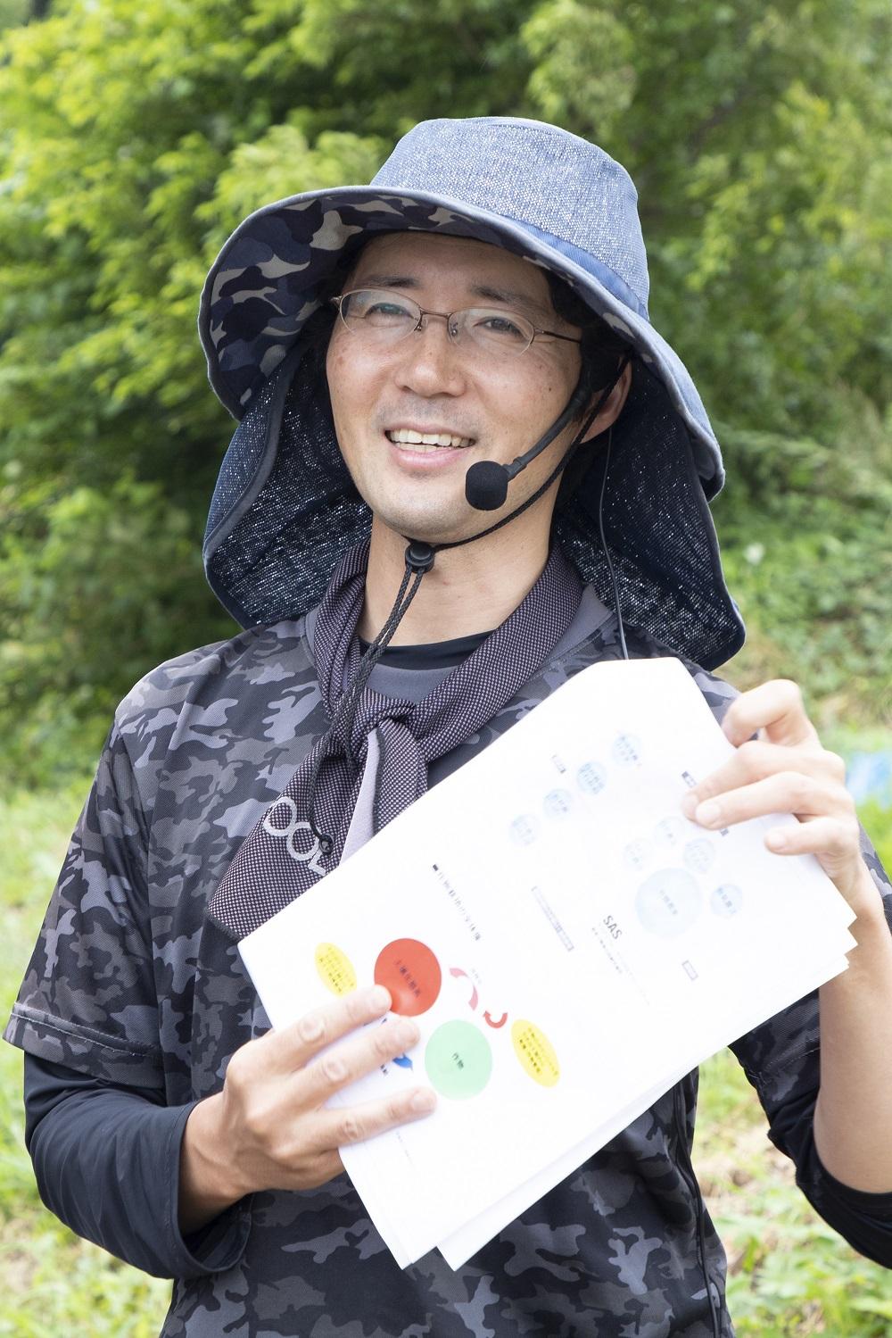 Uchida-san smile photo