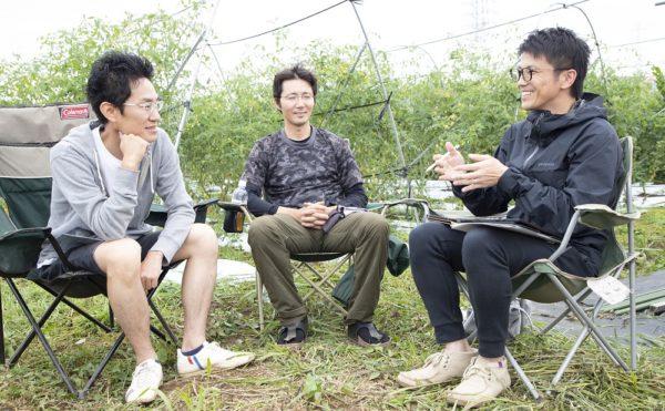 Shirado-san Uchida-san Yamaguchi-san Photo