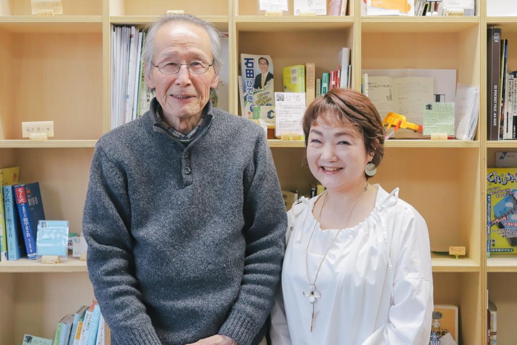 ikezumi-san and interview member photo