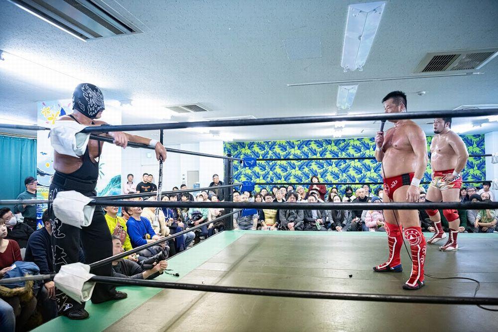 toda-san photo at professinal wrestling